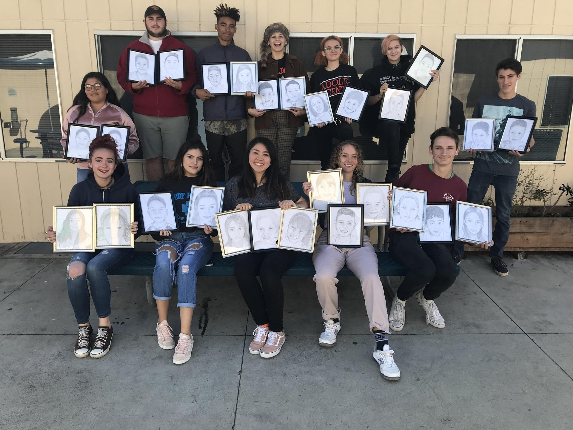 Students Participate in Smile Proejct