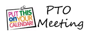 PTO Meeting on Monday, Oct 7th at 2:45 p.m. in the Library