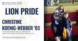 Christine Koenig-Webber PJ Lion Pride