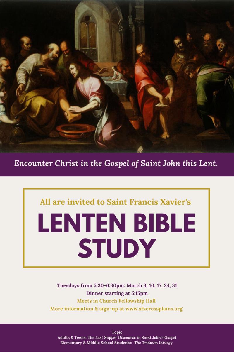 Lenten Bible Study 2020 Thumbnail Image