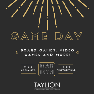 Game Day Flyer