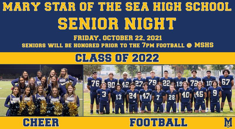 Senior Night for Cheer and Football Featured Photo