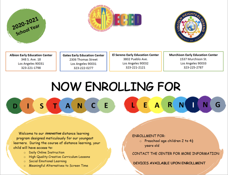 Early Education Centers Are Enrolling Students Featured Photo
