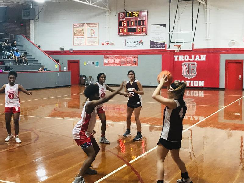 Girls' Basketball Summer League Action