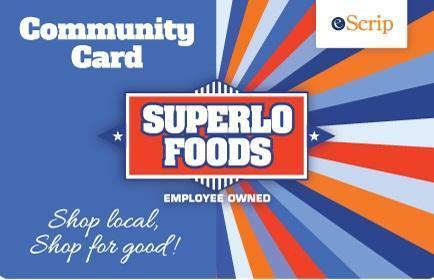 Superlo Foods card