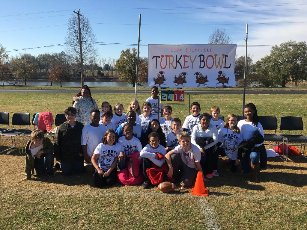 4th Grade Turkey Bowl Winners - Mrs. White's Class