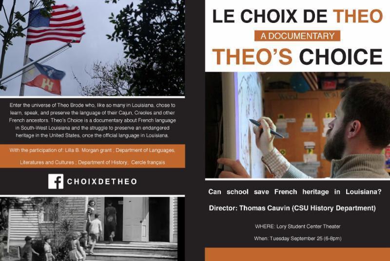 Theo's choice documentary sign