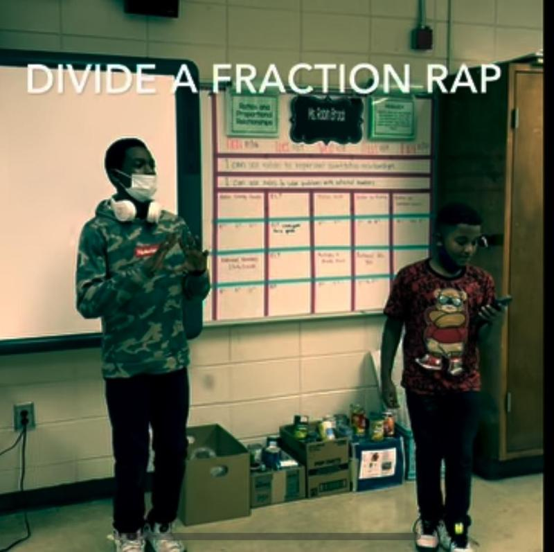 Mrs. Brock's Class Learns About Fractions Featured Photo