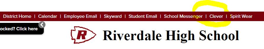 Riverdale High Homepage