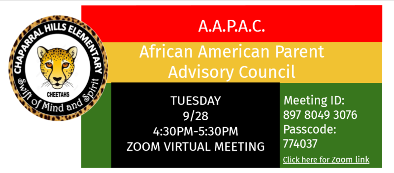 Cover picture of AAPAC flyer