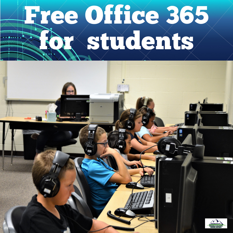Office 365 given to all students