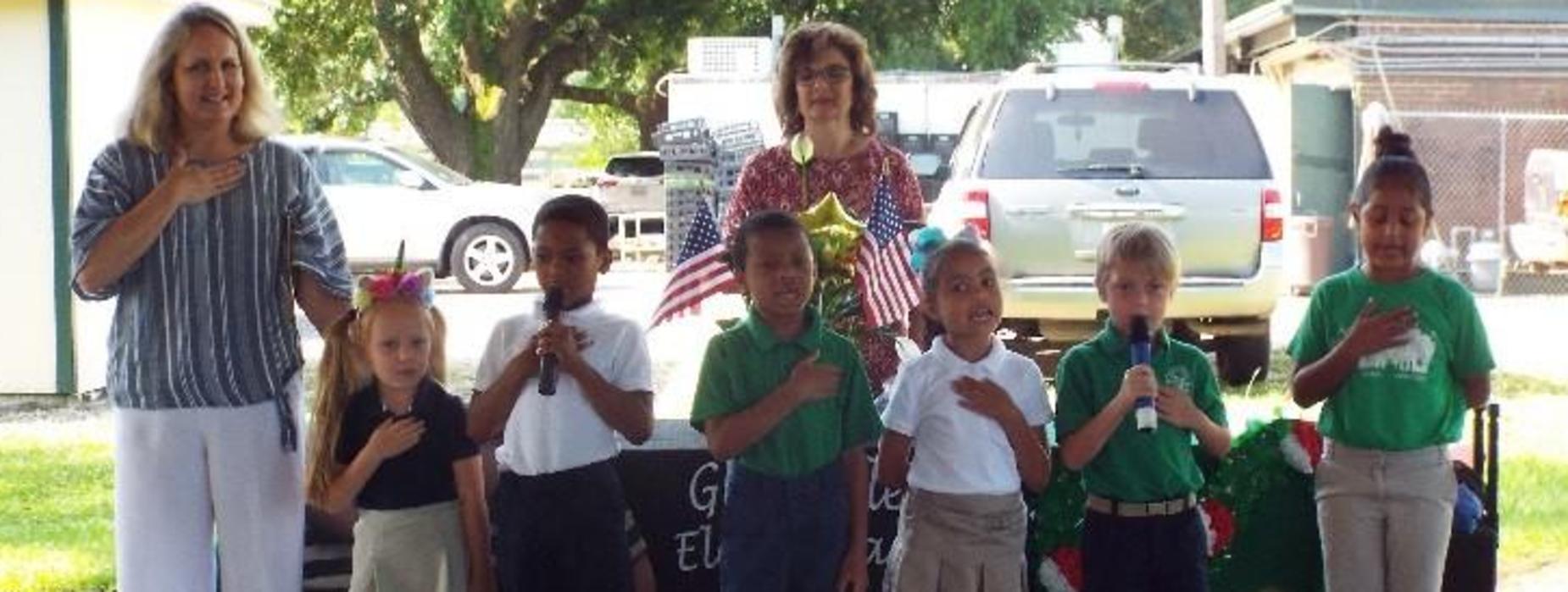1st grade pledge
