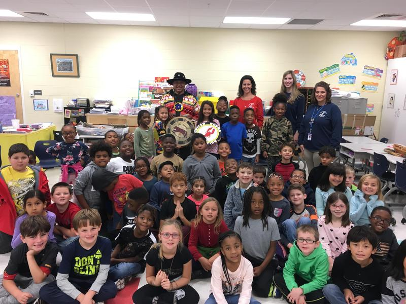 Principal Chief Creppel of the Houma Choctaw Nation Visits 2nd Grade Featured Photo