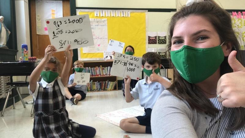 Saint Columbkille Students Head Back to the Classroom Featured Photo