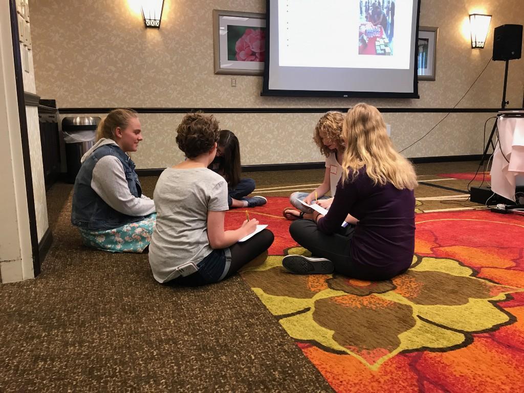 girls of stem kick off meeting