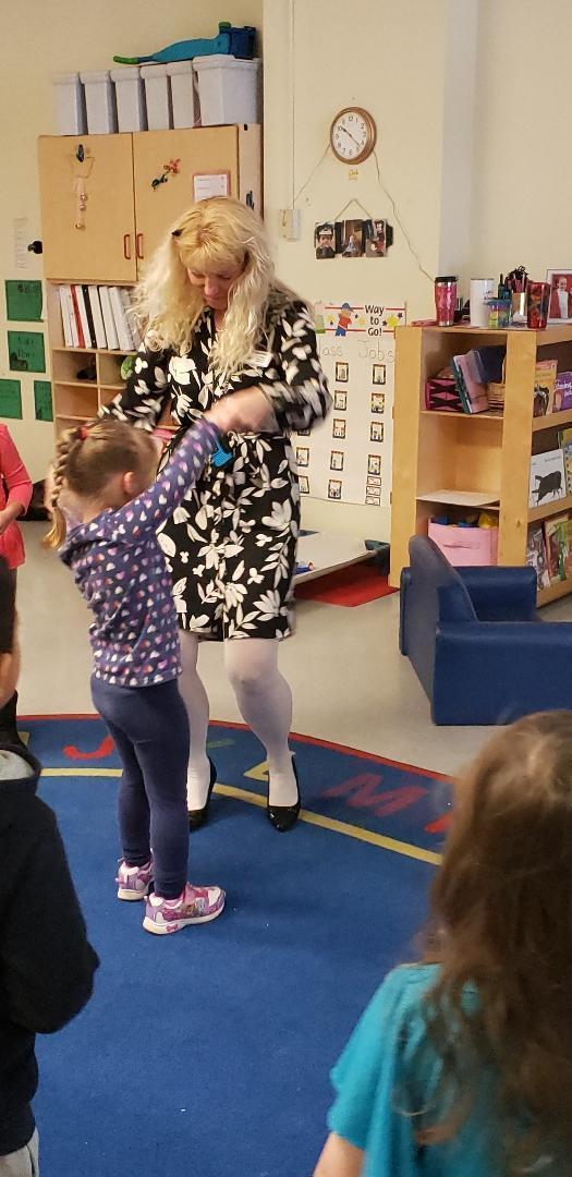 Dancing w/ Mrs. Baker
