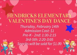 Hendricks Valentine's Dance