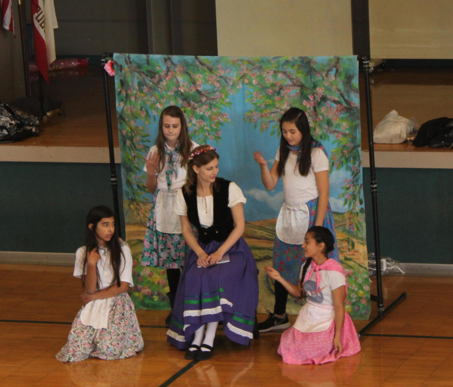 Grade 6 and the SF Opera Guild perform 'The Elixer of Love'