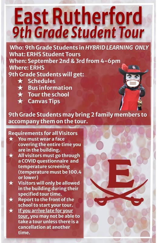 ERHS 9th Grade Hybrid Student Tour Featured Photo