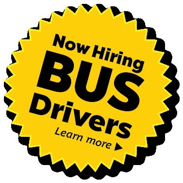 Now Hiring School Bus Drivers