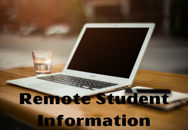 Remote Student Information Thumbnail Image