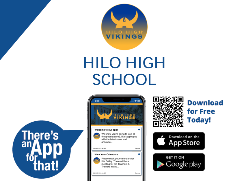 Hilo High School… There's an app for that! Featured Photo