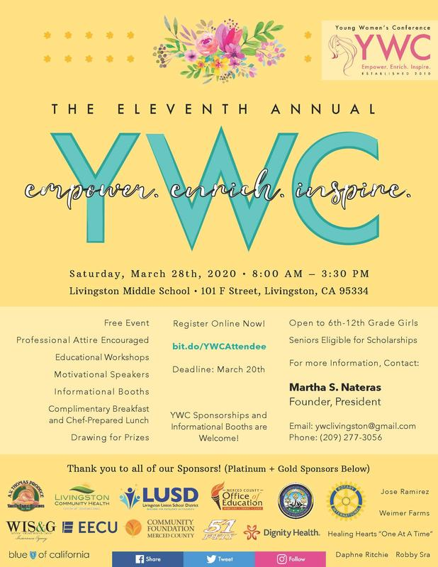 Young Women's Conference logo