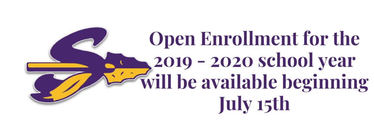Open Enrollment begins July 15 for all students
