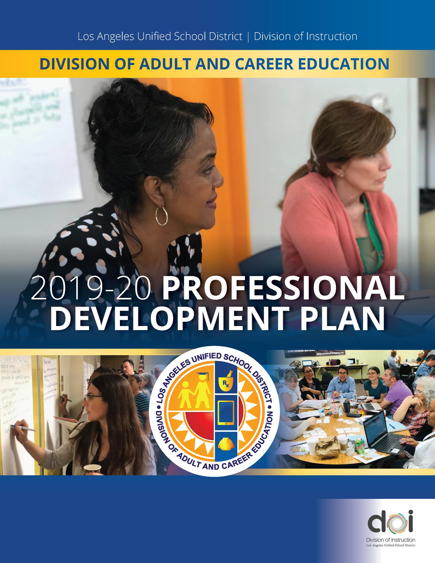 2019-2020 Professional Development Plan