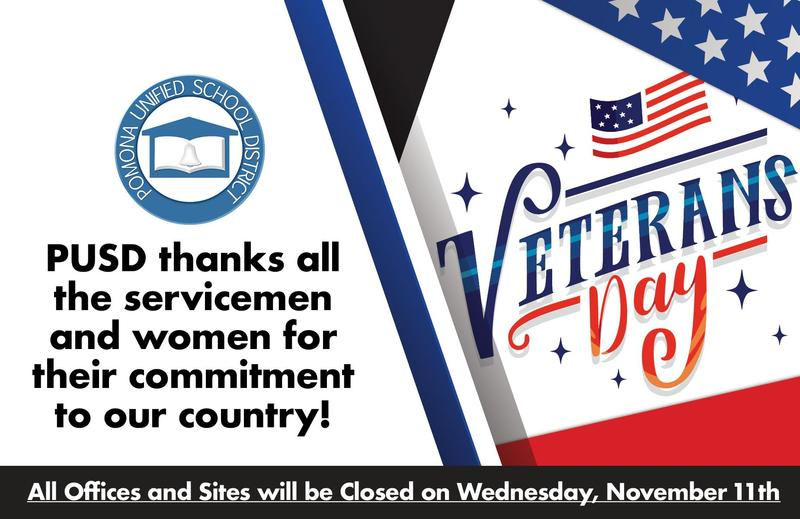 Ed Center Closed- Veterans Holiday