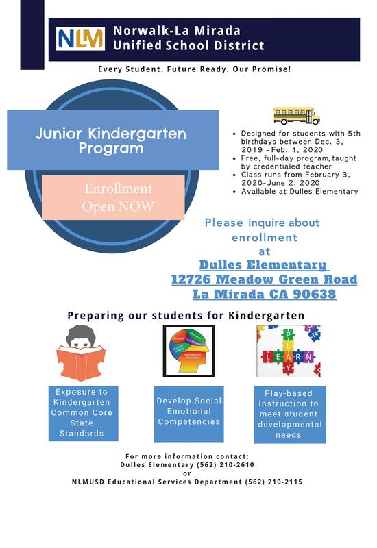 Junior Kindergarten Enrollment Featured Photo