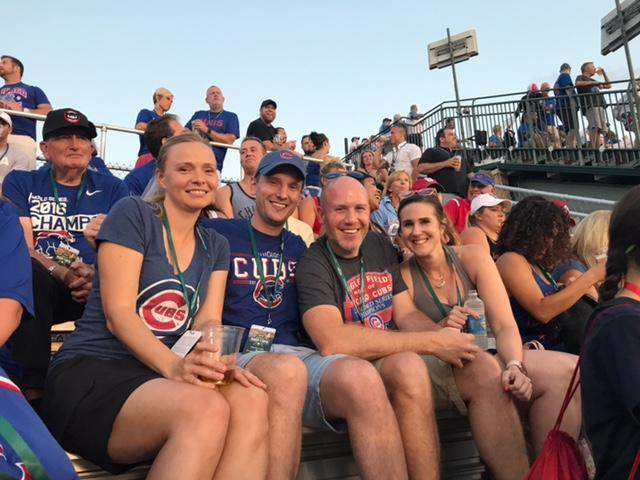 Cubs Rooftop Outing