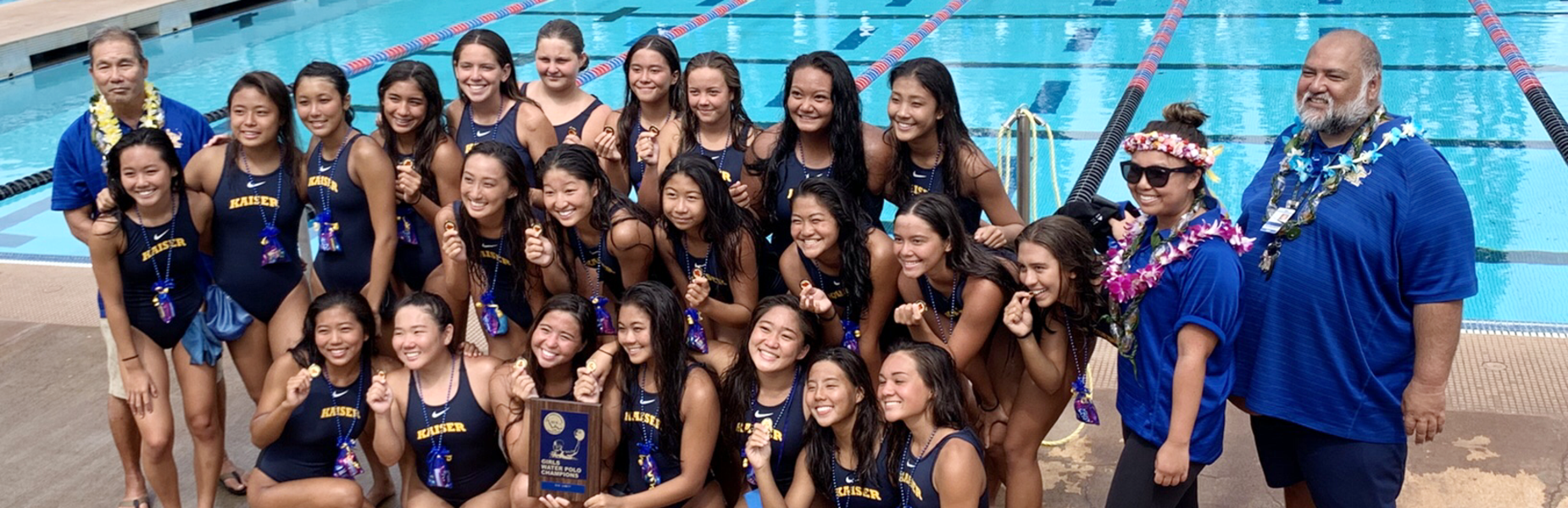 Lady Cougar Water Polo OIA Champions