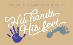 Invitation cover for the Pastor Appreciation Day
