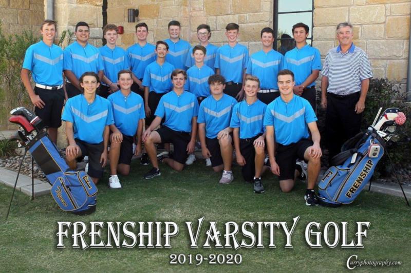 FRENSHIP HIGH SCHOOL VARSITY GOLF TEAM 2019-2020