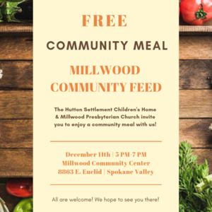 Community Meal flyer