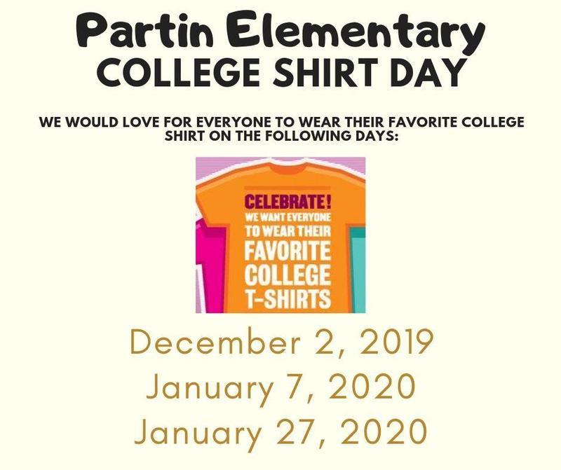 College Shirt Day Thumbnail Image