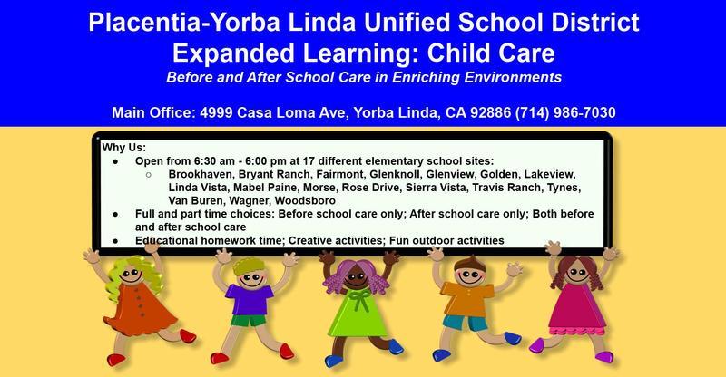 Child Care Registration Flyer for PK/Kinder Registration