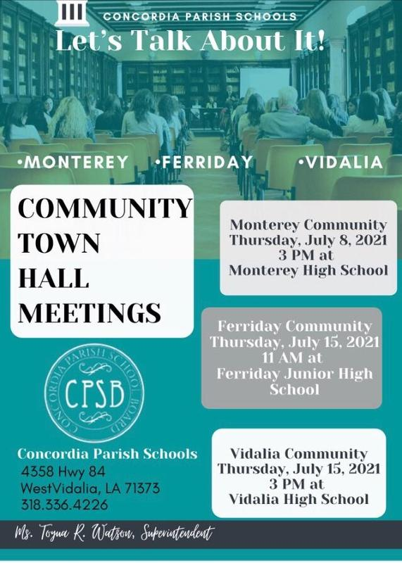 Community Town Hall Meetings Featured Photo