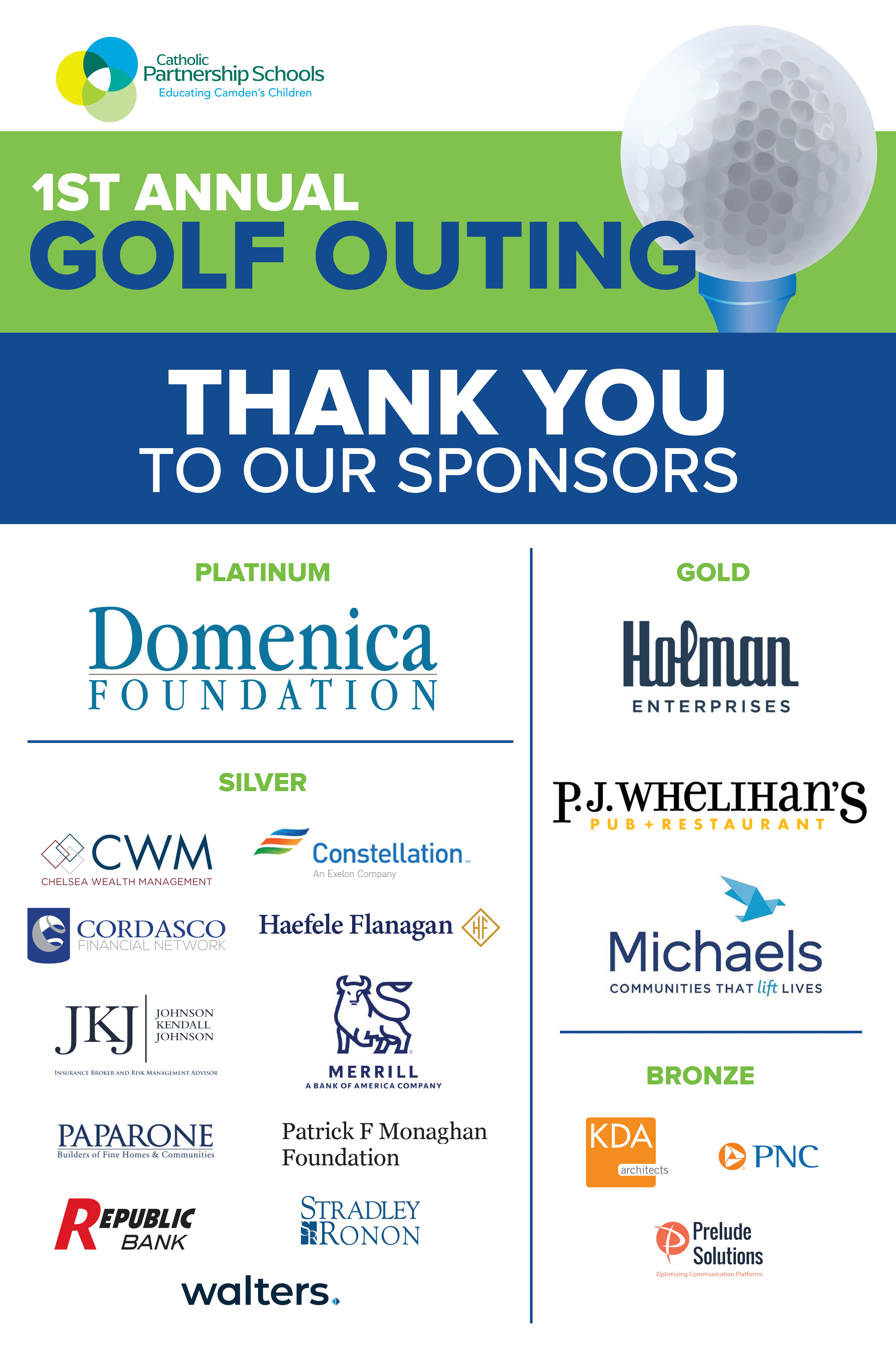 Golf Outing Sponsors