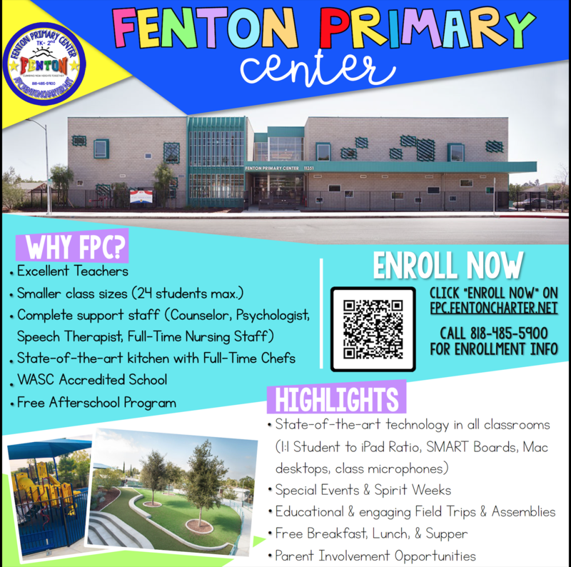Now Enrolling for the 2020-2021 School Year! Featured Photo