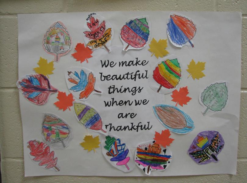 Happy Thanksgiving From Friendship Elementary