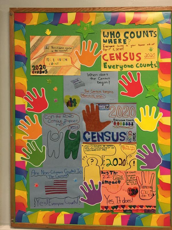Census Bulletin Display 1