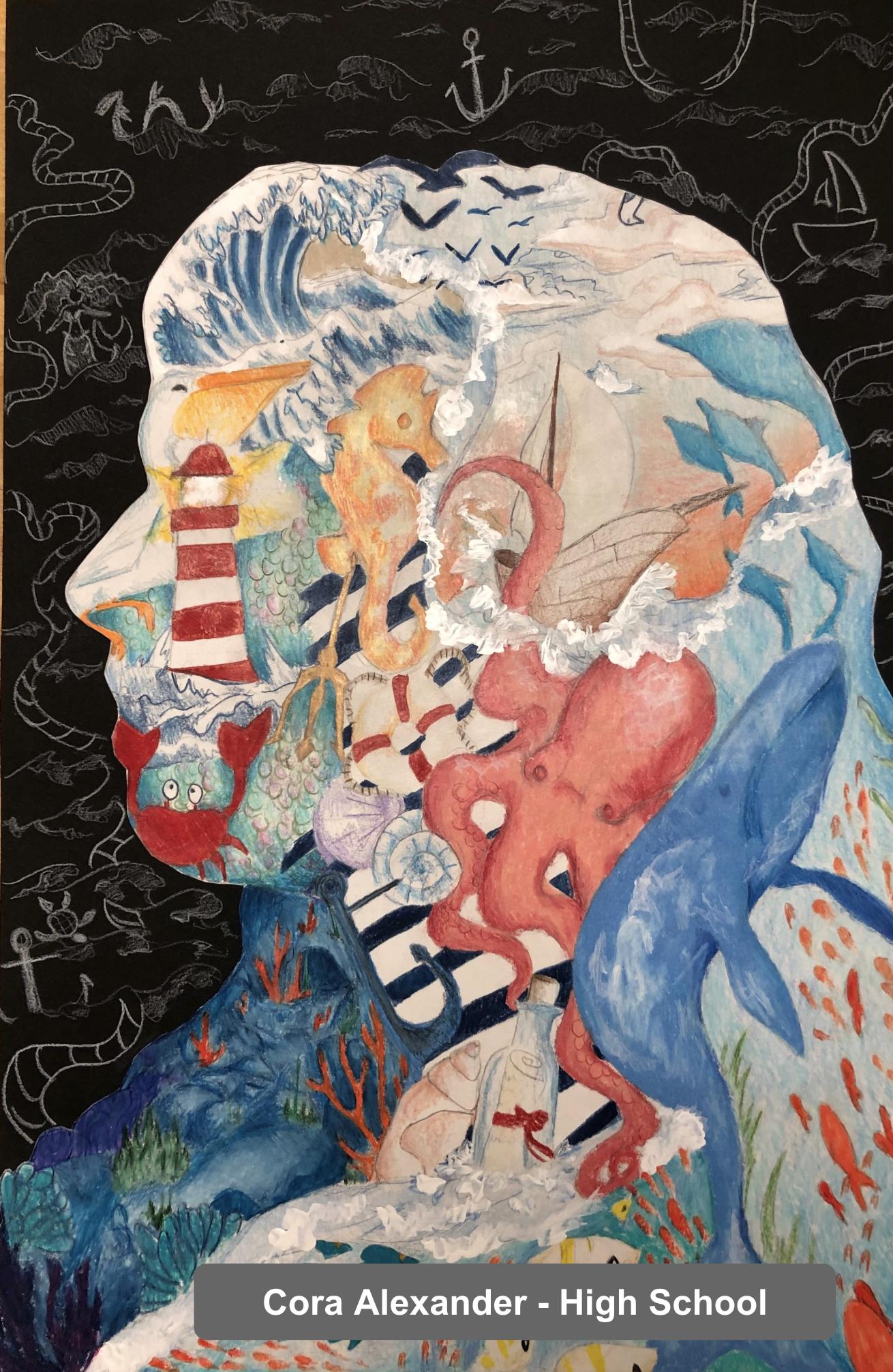 Cora Alexander - Art Project - High School
