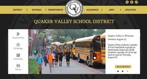 New QVSD Website