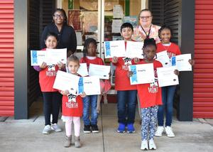 Elementary Students of the Month October
