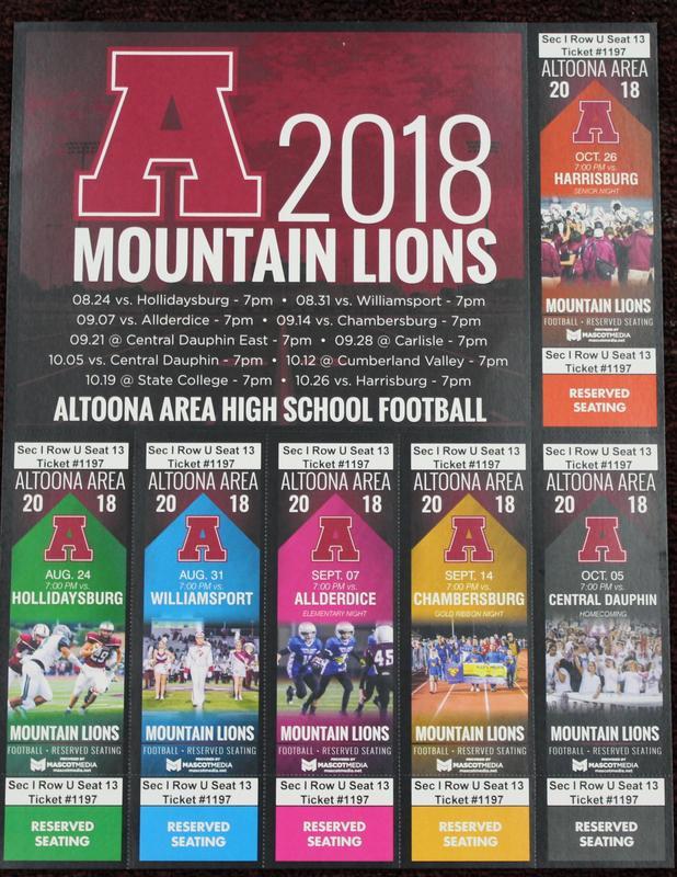 AAHS Football Season Tickets Now on Sale Thumbnail Image