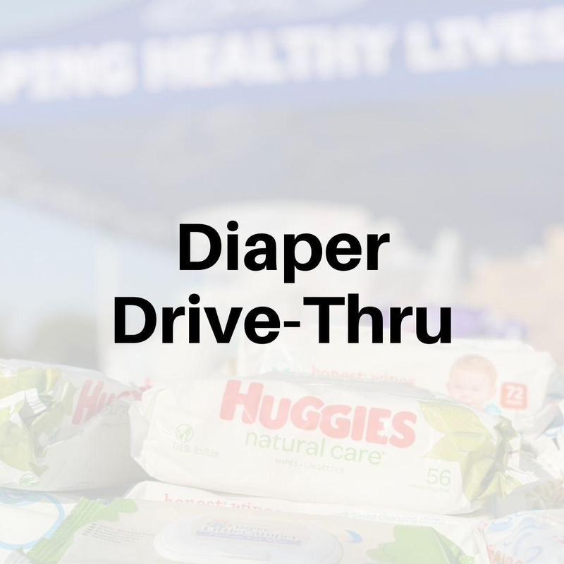 Diaper Drive Thru event on 3/17/21