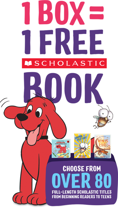Kelloggs and Scholastic Book offer