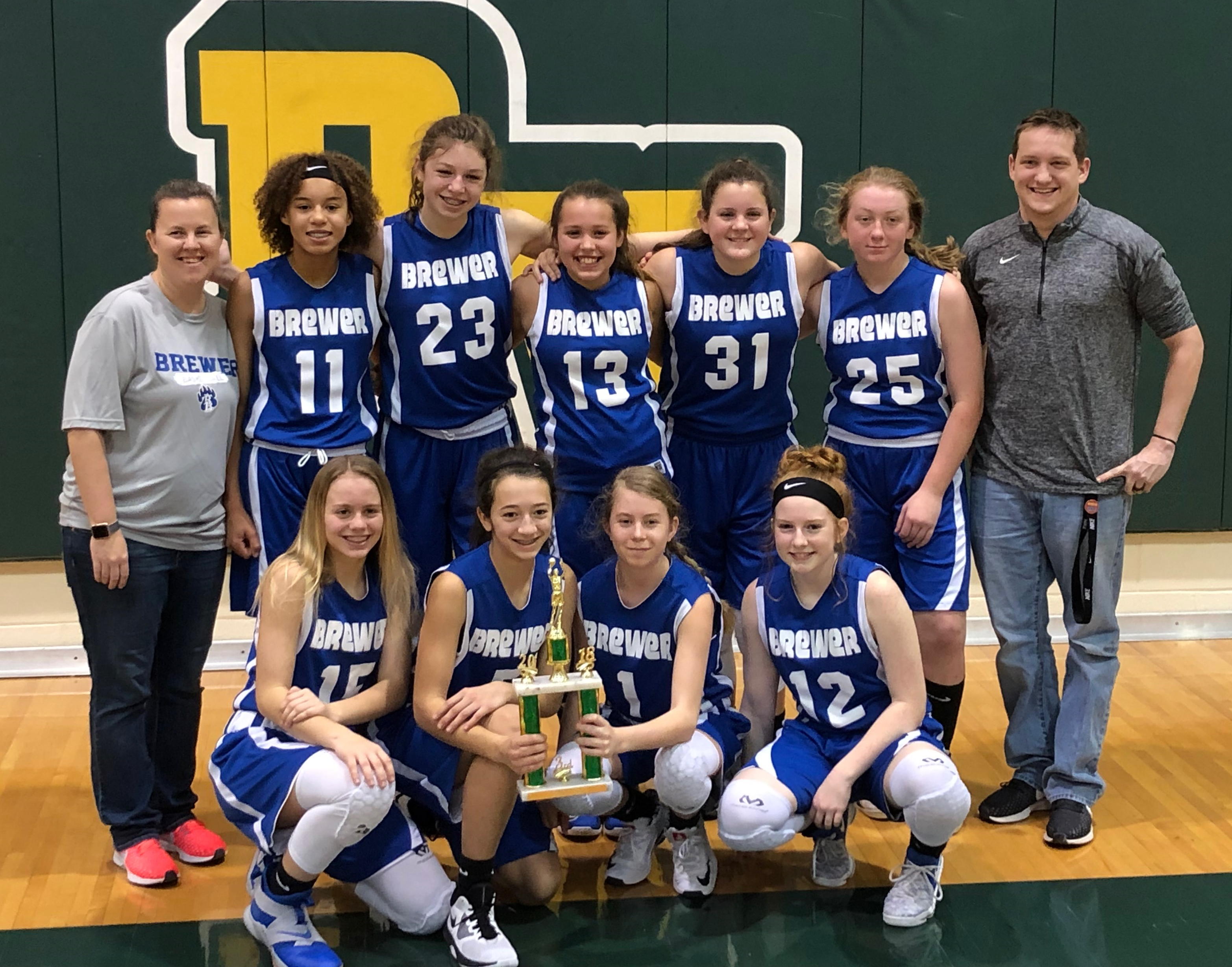 Middle School Eighth Grade A Team Takes Third at Saginaw Tourney